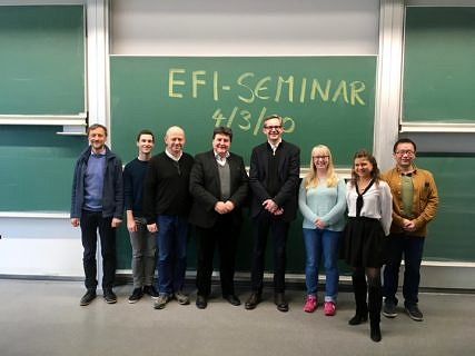 "Towards entry ""5th EFI seminar by Prof. Cartsten Werner from Leibniz Institute for Polymer Research, Dresden"""